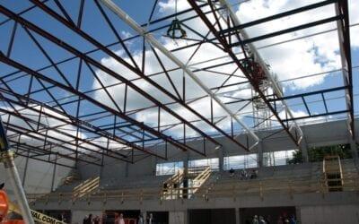 Richtfest der Sporthalle Langenhagen