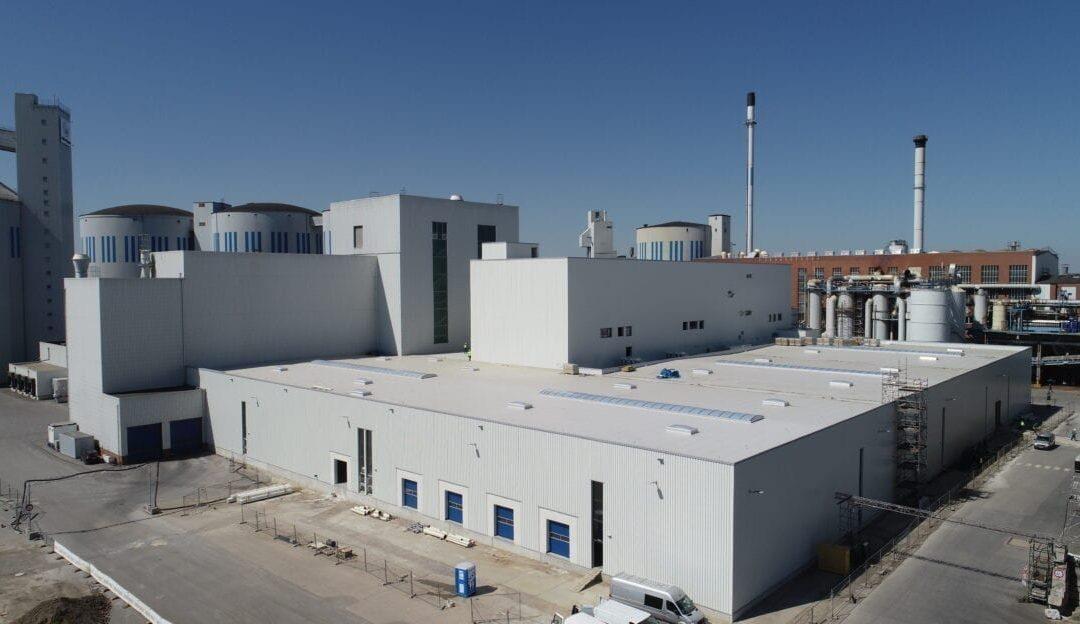 Drohnenaufnahmen Erweiterung Produktion Pfeifer & Langen in Jülich