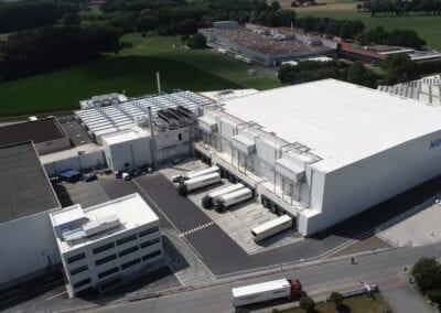 Tiefkühl-Logistikzentrum in Versmold