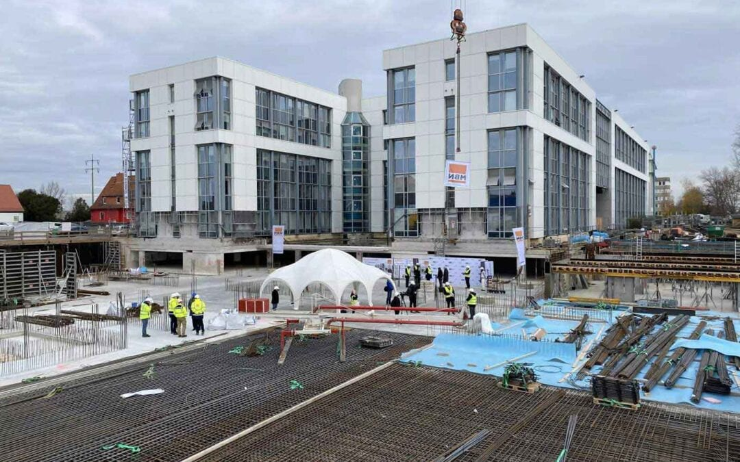 Grundsteinlegung Hub 3 des BB Business Hub in Berlin