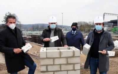 Der Grundstein ist gelegt – Bau des ithub schreitet voran