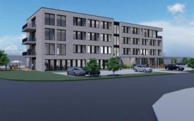 "Neubau IT-Bürokomplex ""ithub"" in Bissendorf"
