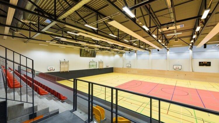 Schul- und Veranstaltungssporthalle in Langenhagen ist betriebsbereit