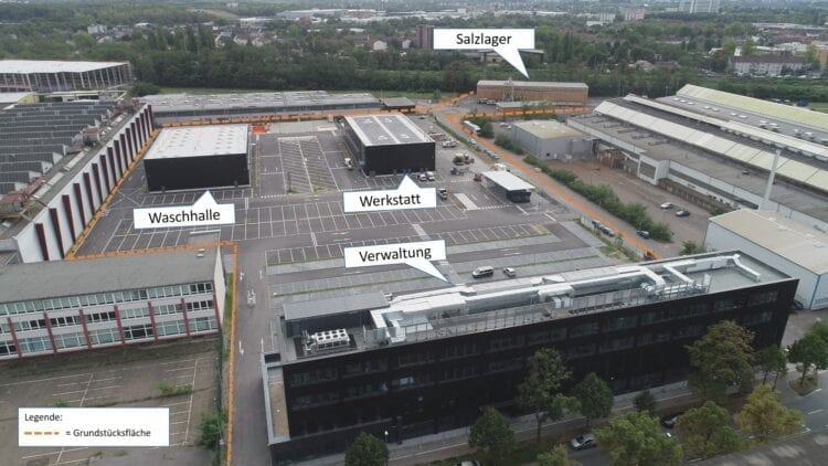 Einweihung Betriebshof der AWB in Köln