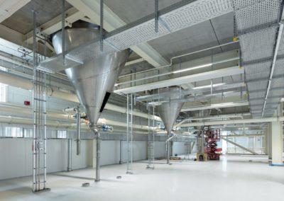 Neubau von Produktionshallen für eine Zuckerfabrik in Jülich