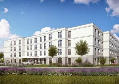 Neubau einer Seniorenresidenz in Magdeburg