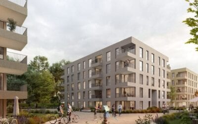 Neubau Wohnanlage in Bonn