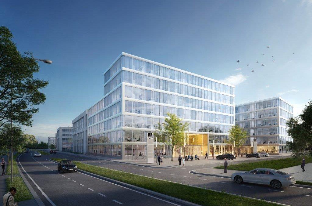 Hub 3 des BB Business Hub in Berlin