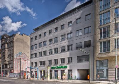 Sanierung eines Wohn- und Geschäftshauses in Berlin