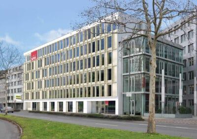 Neubau Wohn- und Büroeinheiten der Geschäftsstelle NRW SPD