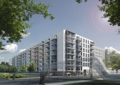 Neubau Wohnanlage Rhinstraße in Berlin-Lichtenberg