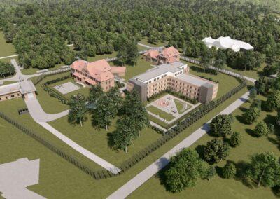 Neubau Maßregelvollzugsklinik in Bedburg-Hau