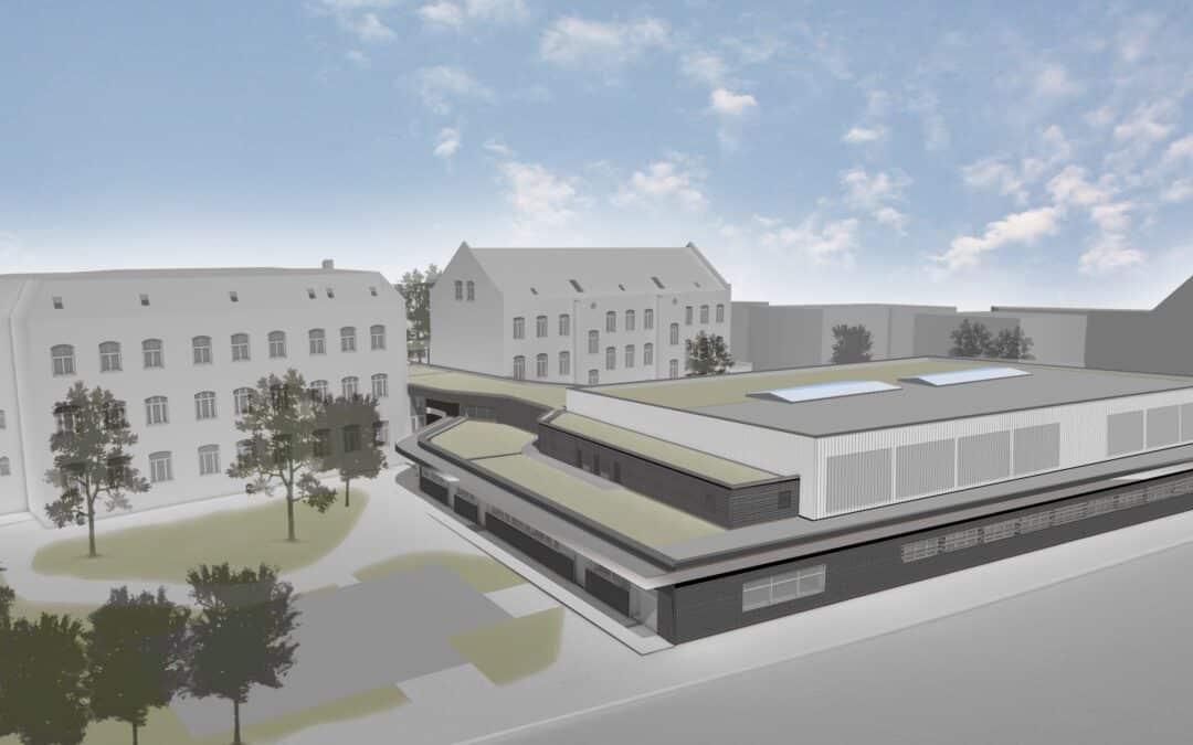 Neubau Dreifachsporthalle Grundschule Heerstraße