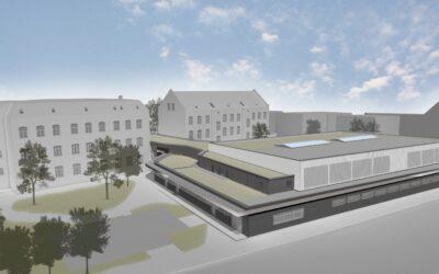 Neubau Dreifachsporthalle an der Grundschule Heerstraße