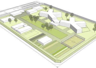 Neubau einer Maßregelvollzugsklinik in Hörstel-Dreierwalde