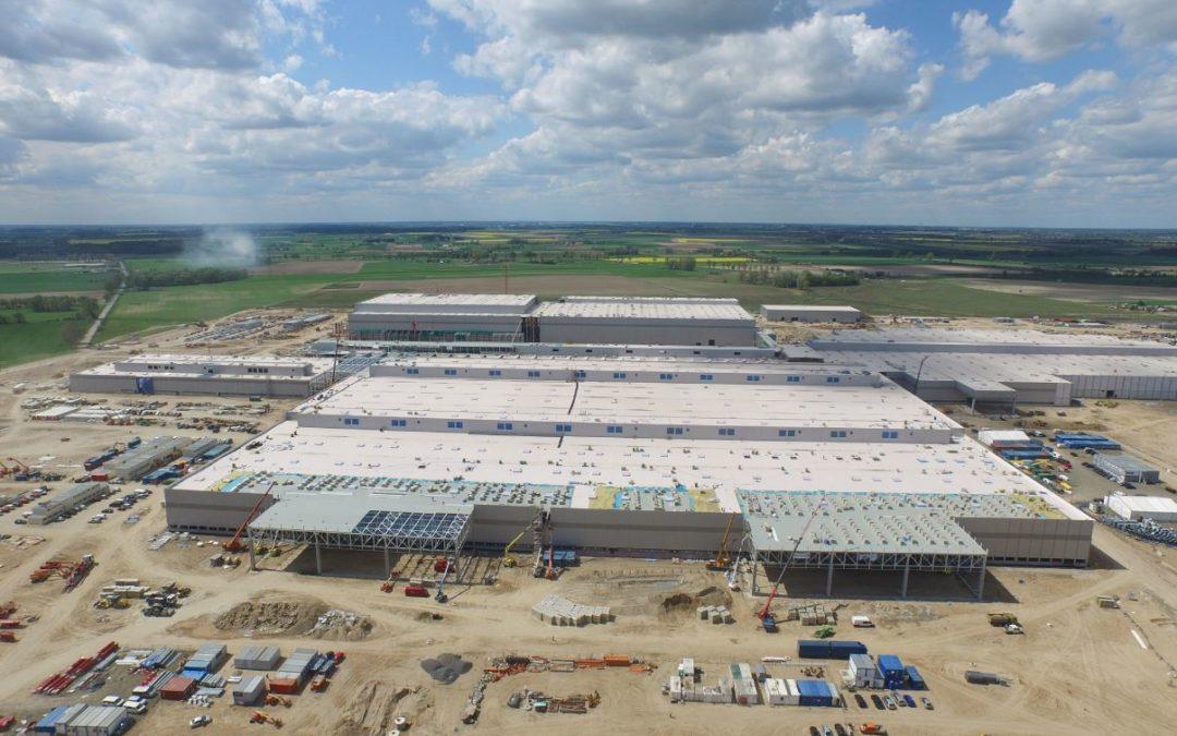 VW Produktionshalle in Polen