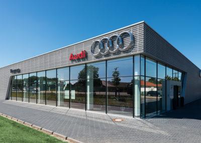 Neubau Audi Terminal in Celle