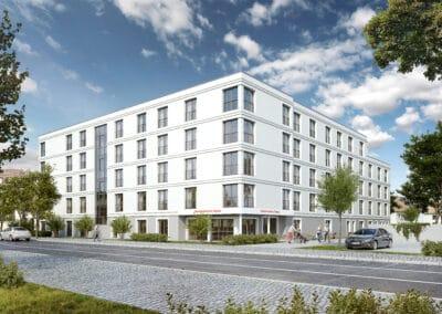 Neubau eines Senioren-Pflegeheims in Dessau