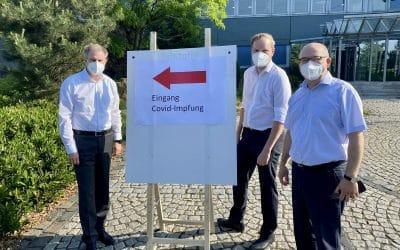 Gelungene MBN-Impfaktion am Hauptstandort in Georgsmarienhütte