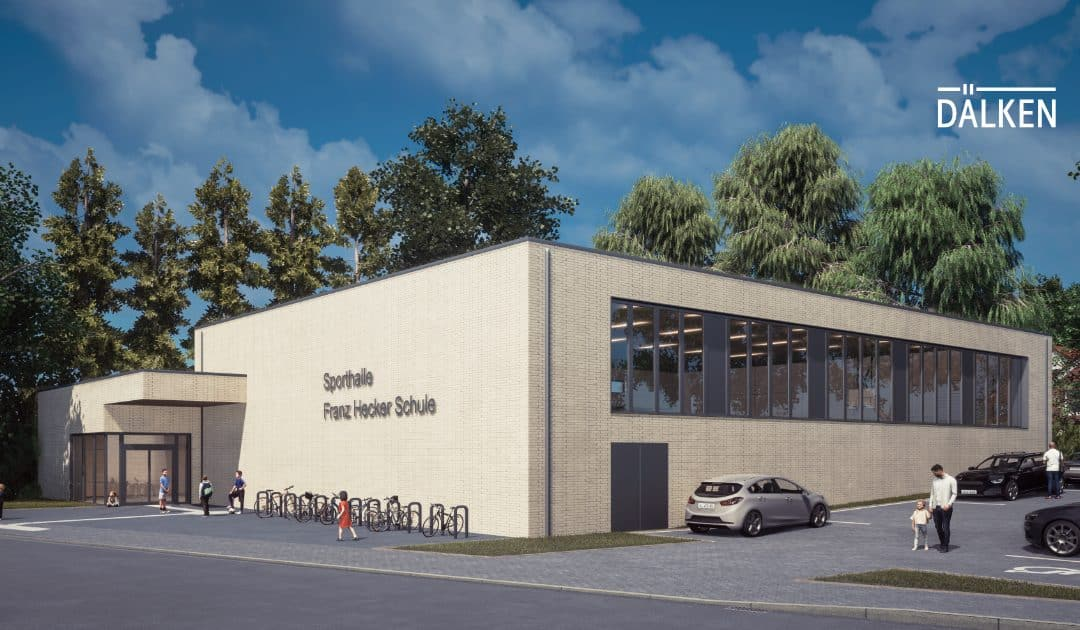 Neubau einer Sporthalle an der Franz-Hecker-Schule in Osnabrück