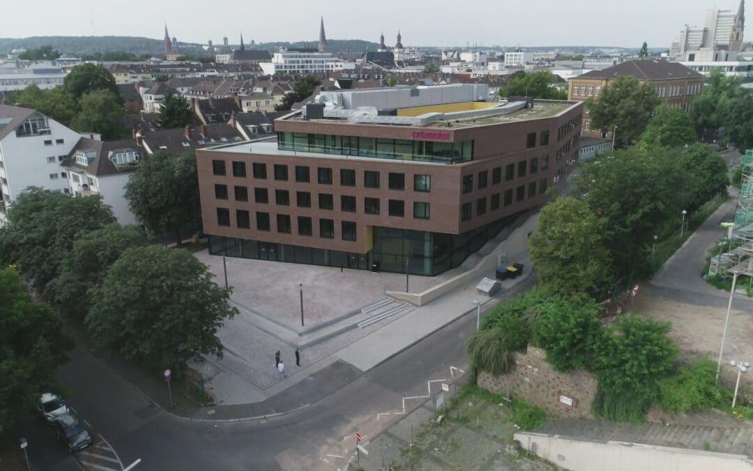 Drohnenaufnahmen Hotelneubau in Bonn