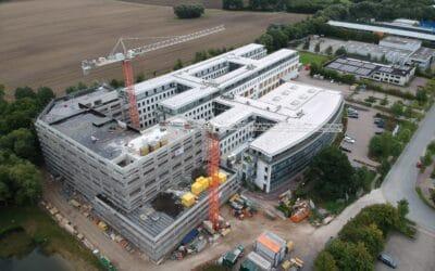 Richtfest Bürogebäude Basler AG in Ahrensburg