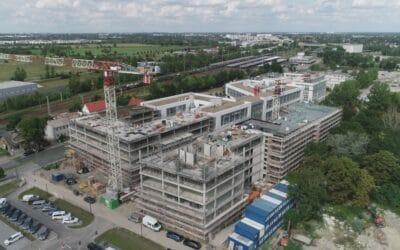 MBN-Niederlassung Berlin realisiert Büroneubau am nahegelegenen BER