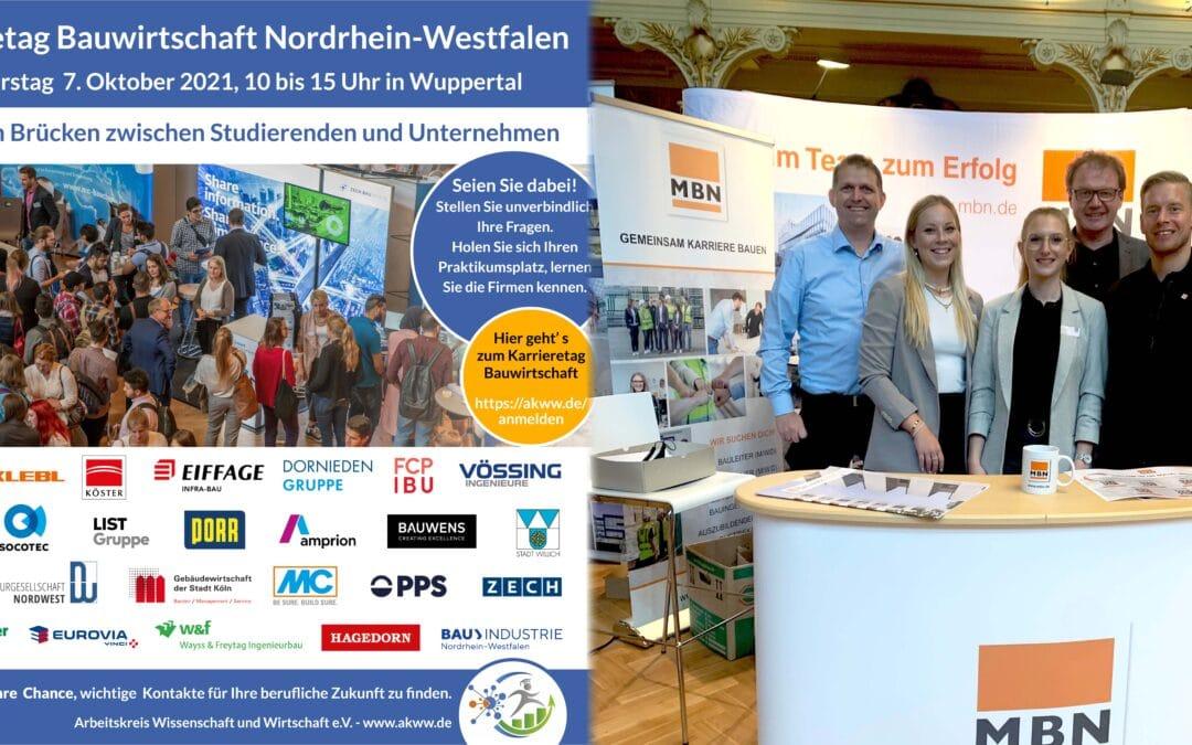 Karrieretag Bauwirtschaft – Nordrhein-Westfalen